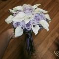 Svatební — fialová svatba