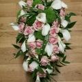 Svatební — růžovozelená svatba
